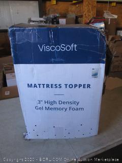 """3"""" High Density Gel Memory Foam Size King"""