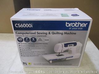 Brother Computerized Sewing & Quilting Machine