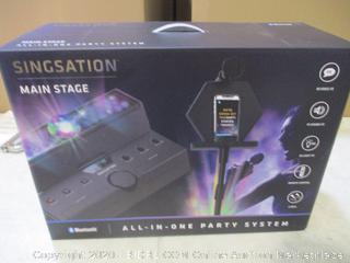Singstation Main Stage Bluetooth All-In-One Party System