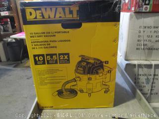 DeWalt 10 Gallon Portable Wet/Dry Vacuum