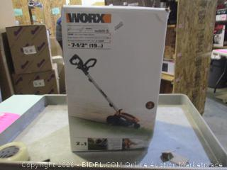 WORX 2-in-1 Lawn Edger/Trencher (Box Damage)
