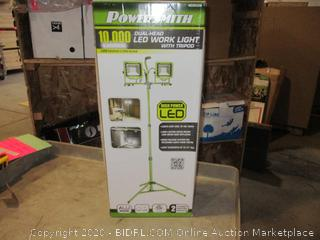 Dual Head LED Work Light w/ Tripod