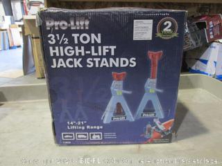 Pro-Lift 3 1/2 Ton High-Lift Jack Stands