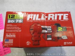 Fill-Rite High-Flow Fuel Transfer Pump