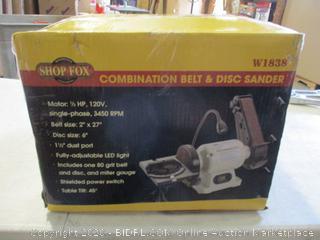 Combination Belt & Disc Sander
