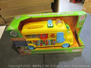 Leap Phonics Fun Animal Bus