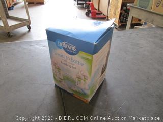 Breast to Bottle Pump & Store Feeding Set