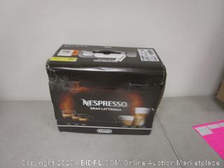 deLonghi Nespresso Gran Lattissima see pictures