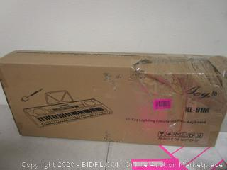 61-Key Lighting Simulation Piano Keyboard  see pictures