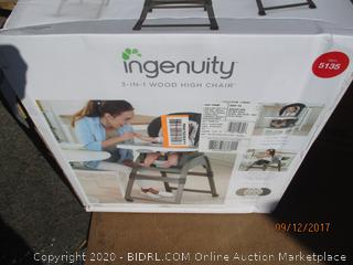 Ingenuity High chair See Pictures