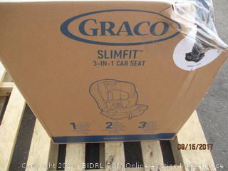 Graco Slim Fit 3-in-1 Car Seat (Box Damaged)