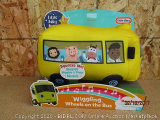 Little Tikes Wiggling Wheels on the Bus (Dirty)