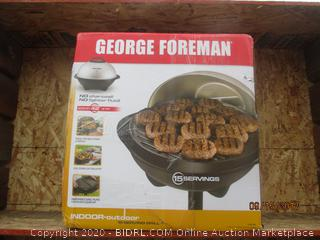george foreman outdoor grill see pictures