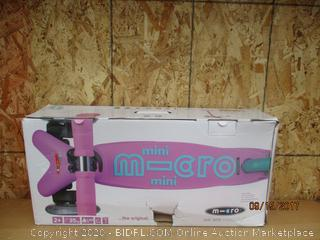 M-cro scooter see pictures