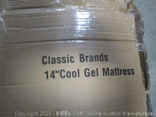 """Classic Brands 14"""" Cool Gel Mattress  queen"""