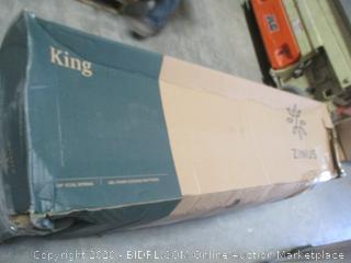 Zinus King 14' Coil Spring gel Foam Cooling Mattress