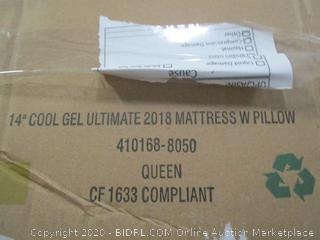 "14"" Cool Gel Ultimate Mattress Queen"