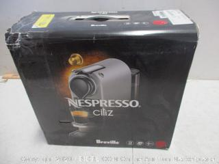 Breville Nespresso Citiz damaged/ plastic damaged, machine working