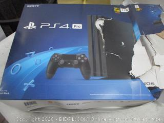 Sony PS4 Pro Jet Black  new