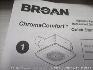 Broan NuTone  damaged, dented