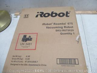 Robot Roomba Vacuuming Robot New Factory Sealed