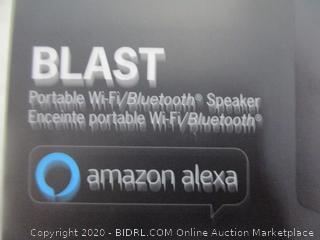 Ultimate Bars Blast Portable Wi-Fi/Bluetooth Speaker  New Factory Sealed