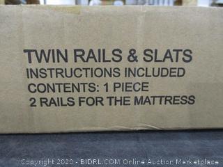 Twin Rails & Slats