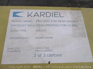 Kardiel desk Protractor Incomplete Set