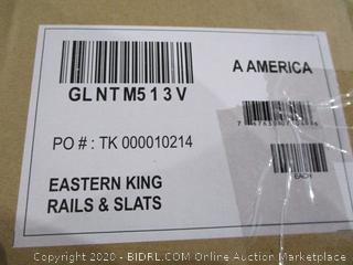 Eastern King Rails & Slats