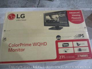 "LG Color Prime WQHD Monitor  27"" See Pictures"