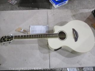 Yamaha Electric Acoustic Guitar in box see pictures