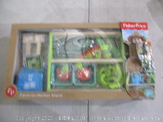 Fisher Price Farm to market stand