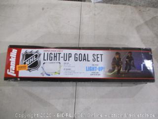 mini Hockey Light Up Goal Set