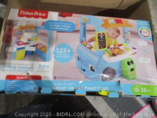 Fisher Price Laugh &n Learn Servi Up fun Food Truck