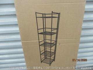 5 Tier Folding Shelf