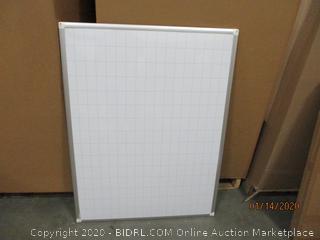 Grid Dry Erase Board