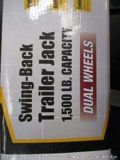 Swing-Back Trailer Jack