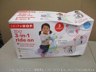 Skip Hop 3-in-1 Ride On