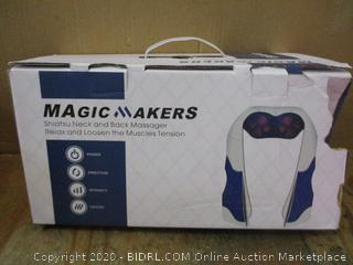 Magic Maker Shiatsu Neck and Back massager
