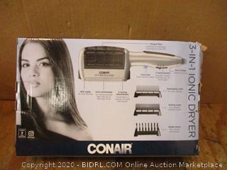 Conair 3 in 1 Ionic Dryer