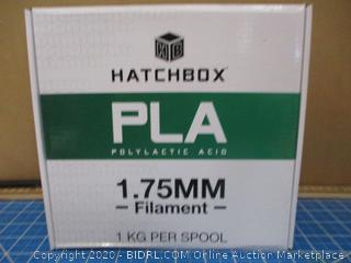 Hatchbox PLA Polylactic Acid 1.75MM Filament