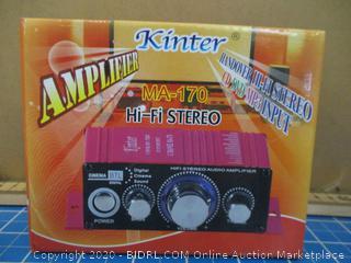 Kinter Amplifier MA-170 Handover HI-FI Stereo
