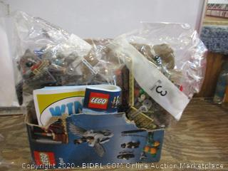 Lego damaged box / possibly missing some