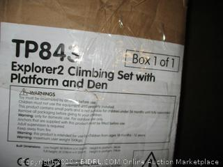 Explorer2 Climbing Platform and Den