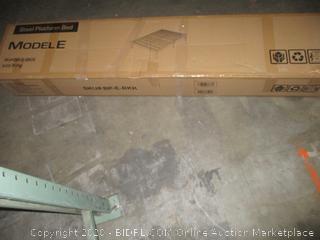 Steel Platform Bed King