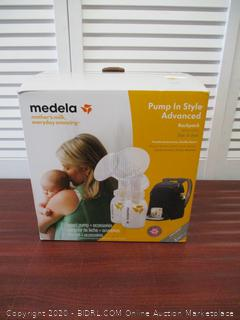 Medela Pump in Style Advanced Breast Pump with Backpack, Double Electric Breastpump, Portable Battery Pack, Adjustable Speed and Vacuum