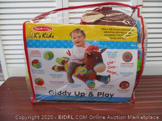 Melissa & Doug Giddy-Up & Play Baby Activity Toy
