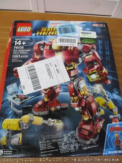 LEGO Marvel Super Heroes Avengers: Infinity War The Hulkbuster: Ultron Edition 76105 Building Kit