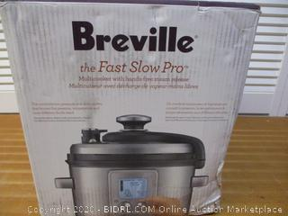 Breville BPR700BSS Fast Slow Pro Multi Function Cooker, Brushed Stainless Steel (Retail $265)