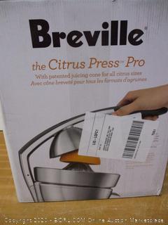 Breville 800CPXL Die-Cast Stainless-Steel Motorized Citrus Press